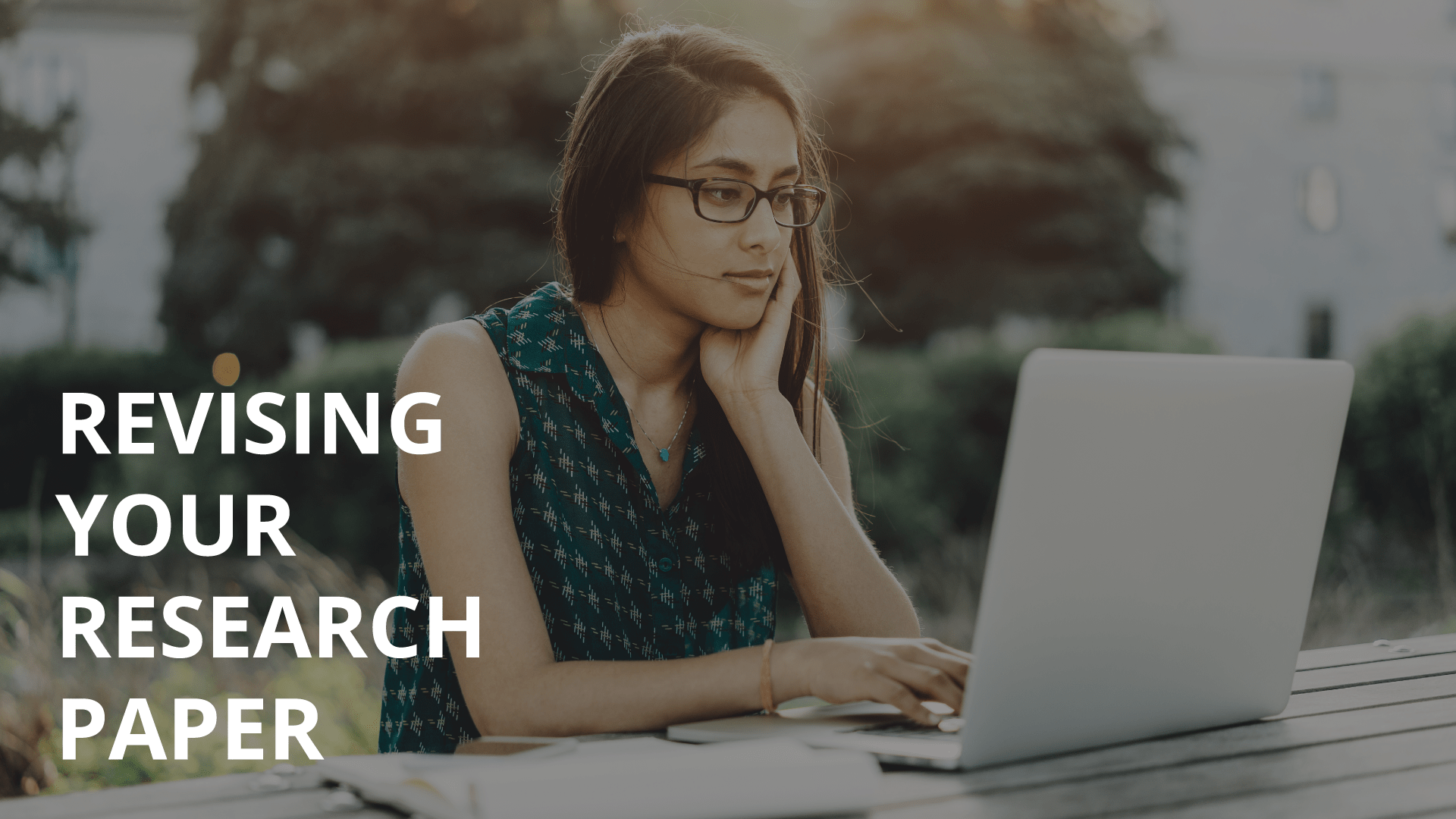 revising research papers Center on twitter home » slc » study » writing » revising your rough draft   in each revision of the paper, focus on a different kind of concern remember.